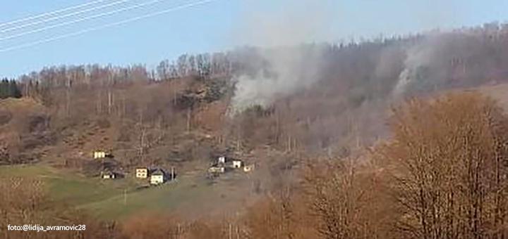 IL-parezansko-brdo-pozar Gori deponija na Senjaku, požar i na Parezanskom brdu (VIDEO)