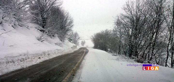 IL-sneg-u-martu-3 Sneg opet obeleo okolinu ivanjice (VIDEO)