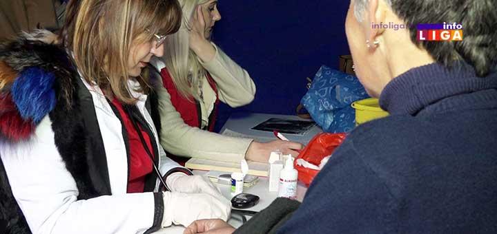 IL-crveniKrst-danzdravlja Crveni krst Ivanjica i Dom zdravlja organizovali preventivne preglede u centru grada (VIDEO)