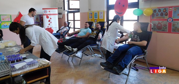 IL-ddk-matis-i-tehnicka-ceveni-krst Uspešna akcija dobrovoljnog davalaštva krvi u Matisu i Tehničkoj skoli