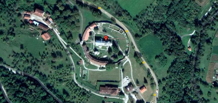 IL-manastirstudenica-mapa Nacrt Prostornog plana manastira Studenica na javnom uvidu