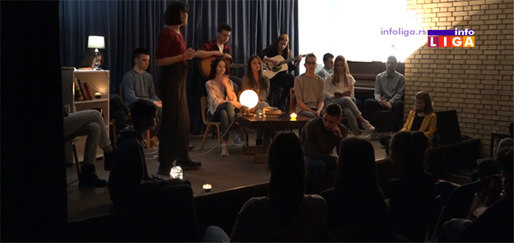 Poetsko veče ivanjičkih gimnazijalaca (VIDEO)