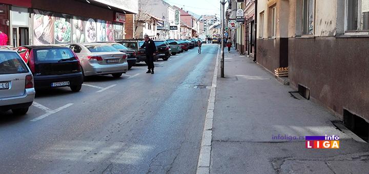IL-ulica-milinka-kusica-parkinfg-maxi-ivanjica Zbog radova zabrana saobraćaja u delu Njegoševe i ulice Milinka Kušića