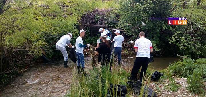 IL-102kao1-akcija2 ''102 KAO 1'' Volonteri očistili korito Marine i Rašćanske reke (VIDEO)