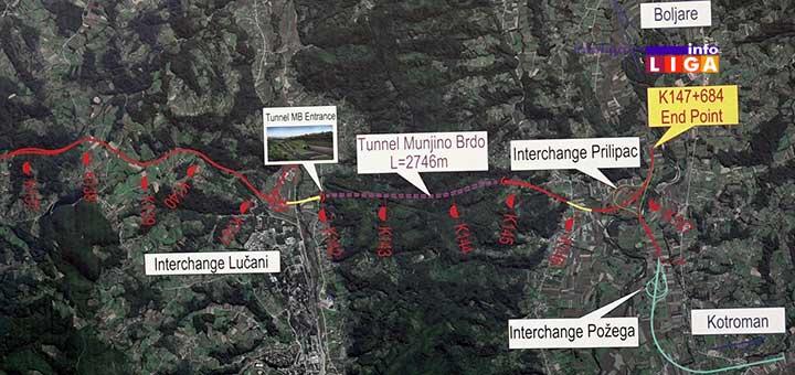 IL-mapa3 Vučić otvorio radove na deonici autoputa Preljina-Požega (VIDEO)
