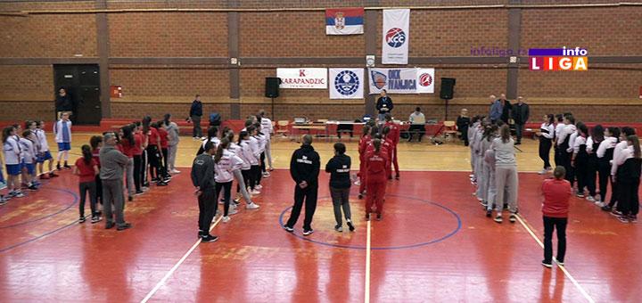 Otvoren Finalni turnir KSS za pionirke u Ivanjici (VIDEO)