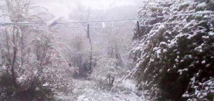 IL-sneg-u-maju-3 Sneg veje u višim predelima Ivanjice (VIDEO)