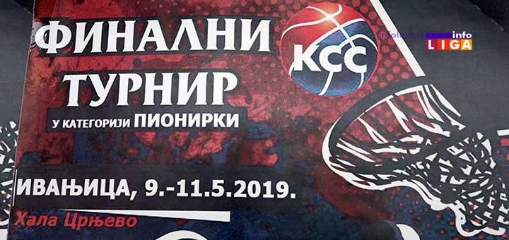 Praznik košarke u Ivanjici – Finalni turnir pionirki (VIDEO)