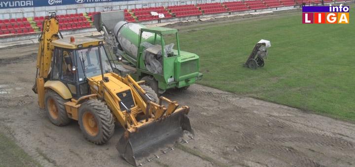 IL-fkjavor-rekonst Fudbaleri Javora počeli pripreme, u toku rekonstrukcija stadiona (VIDEO)