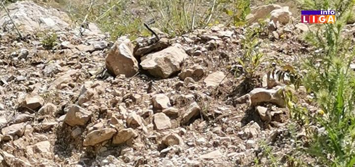IL-Odrnon-kamenolom-1 Vozači zabrinuti zbog obrušavanja delova stena na put u Raščićima