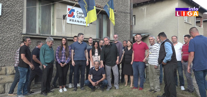 IL-SZS Lideri Saveza za Srbiju posetili Ivanjicu (VIDEO)