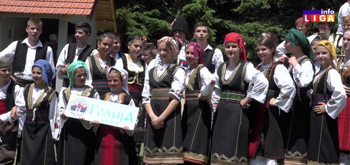 Ivanjdanski festival folkloraša na Goliji