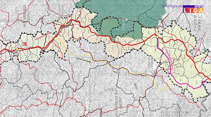 IL-mapa-autoput-pozega-boljare Auto-put kroz Ivanjicu čeka preciznu trasu (VIDEO)