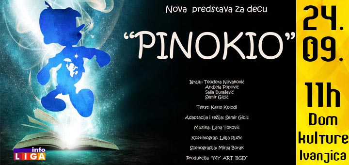 "Predstava ""Pinokio"" u Domu kulture"