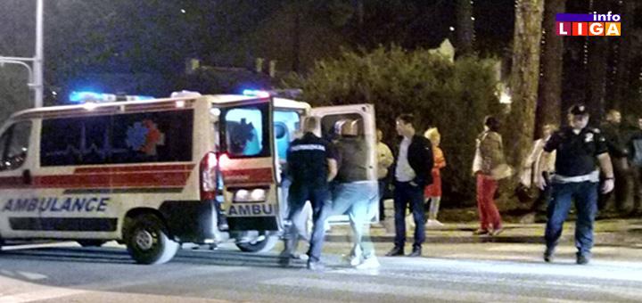 IL-Saobracajna-nezgoda- Ivanjica - Devojčicu udario Jugo kod pešačkog prelaza (VIDEO)