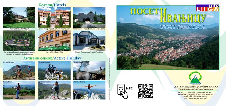 Ivanjička Turistička organizacija napravila jedinstvenu turističku SMART brošuru – Poseti Ivanjicu