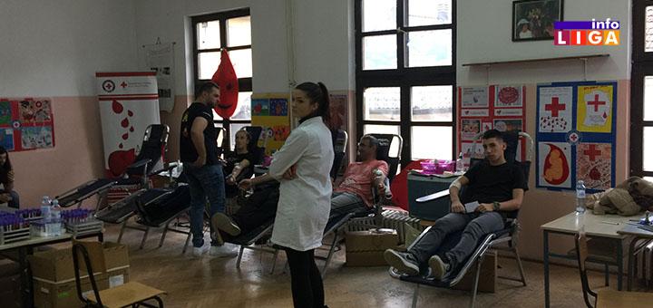 IL-davanje-krvi2 Uspešno sprovedena akcija dobrovoljnog davanja krvi u Ivanjici
