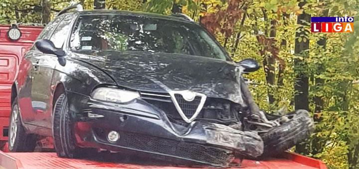 n1 Na putu Ivanjica-Kotraža dve saobraćajne nezgode
