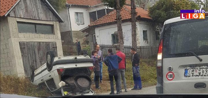 n2 Na putu Ivanjica-Kotraža dve saobraćajne nezgode