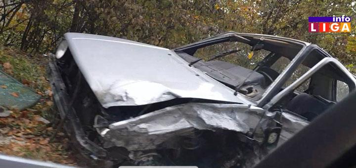 n3 Na putu Ivanjica-Kotraža dve saobraćajne nezgode