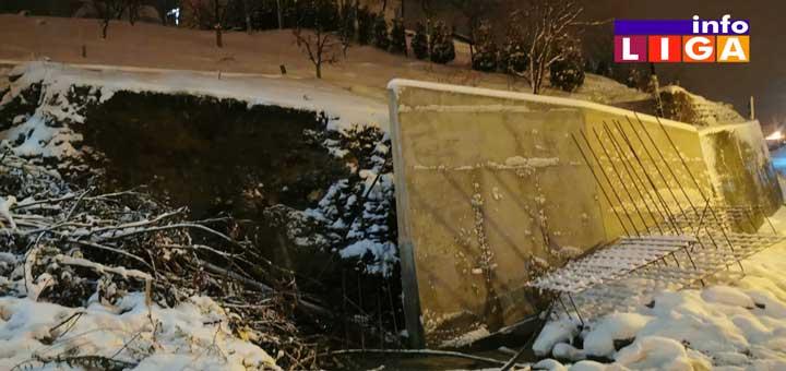 IL-Kliziste-Dragice-Parezanovic Čuveni potporni zid ostavio meštane Mrkočevca bez vode (VIDEO)