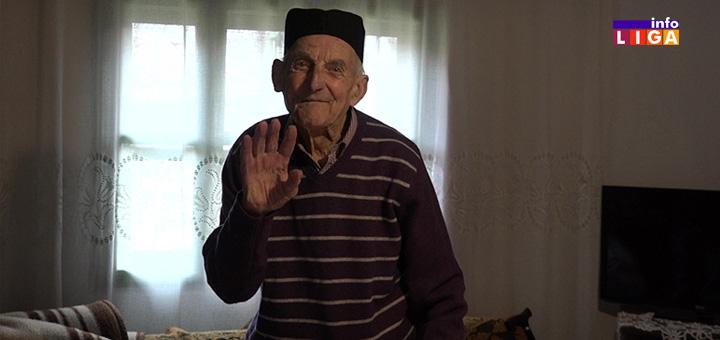 Vojimir Ajdačić iz Ivanjice ugasio stotu rođendansku svećicu (VIDEO)
