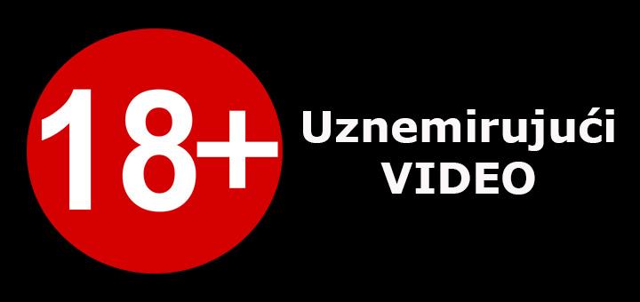 18- UPOZORENJE! UZNEMIRUJUĆI VIDEO! Automobilom pokosio pešaka na ulazu u Ivanjicu (VIDEO)