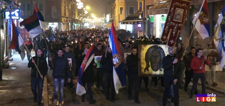 IL-Litija- Ivanjica :  Moleban i litija u znak podrške SPC u Crnoj Gori (VIDEO)