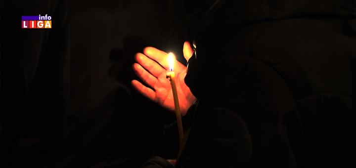 IL-Moleban-i-litija-Ivanjica-sveća- Ivanjica :  Moleban i litija u znak podrške SPC u Crnoj Gori (VIDEO)