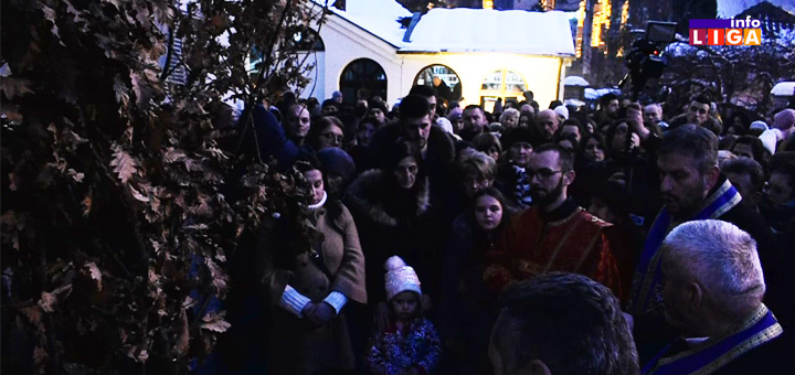 IL-badnjak-crkva Badnje veče u Ivanjici i Prilikama (VIDEO)