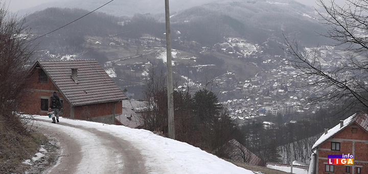 il-bele-njive-sneg-led- Zarobljeni ledom na samo kilometar od Ivanjice (VIDEO)