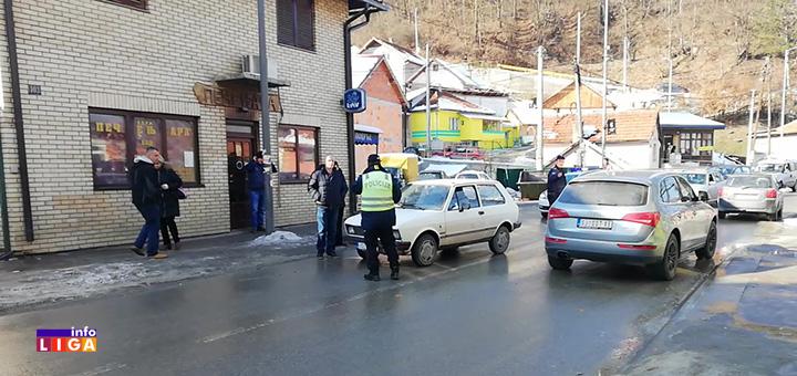 il-nesreca Povređen pešak u saobraćajnoj nezgodi na ulazu u Ivanjicu (VIDEO)
