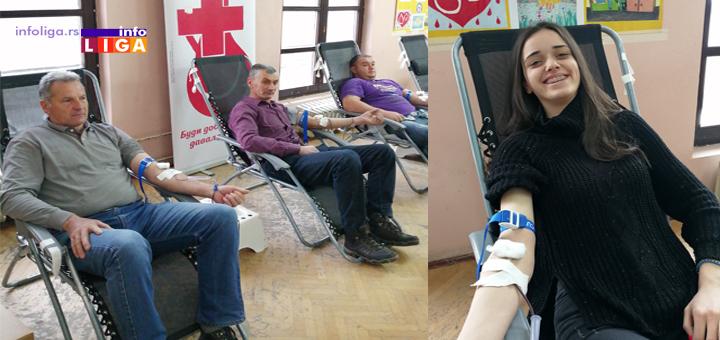 IL-Akcija-davanja-krvi Uspešna akcija dobrovoljnog davanja krvi u Ivanjici
