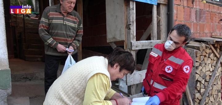 IL-Crveni-krst-Ivanjica-pomoc-korona- Ivanjički Crveni krst na vratima najstarijih sugrađana (VIDEO)