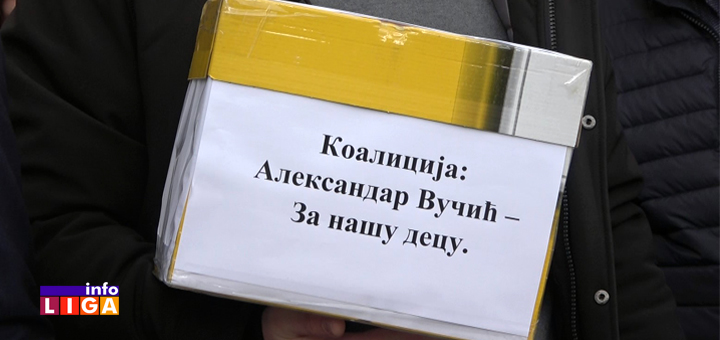 IL-SNS-kutija- Naprednjaci u Ivanjici prvi predali listu (VIDEO)