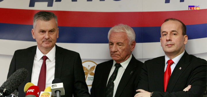 """IL-STAMATOVIC-ZDRAVA-SRBIJA- """"Zdrava Srbija"""" će u koaliciji sa """"Boljom Srbijom"""" i """"Zajedno za Šumadiju"""" izaći na lokalne i parlamentarne izbore"""