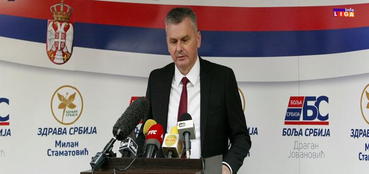 """IL-STAMATOVIC """"Zdrava Srbija"""" će u koaliciji sa """"Boljom Srbijom"""" i """"Zajedno za Šumadiju"""" izaći na lokalne i parlamentarne izbore"""