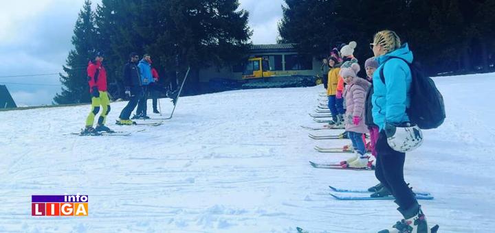 """IL-Skola-skijanja-3 Ivanjički """"Stari Vlah"""" organizovao besplatnu školu skijanja za decu (FOTO)"""