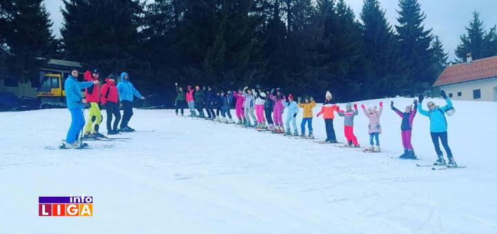 """IL-Skola-skijanja-4 Ivanjički """"Stari Vlah"""" organizovao besplatnu školu skijanja za decu (FOTO)"""