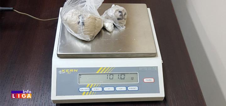 IL-heroin-2 Uhapšen sa paketom heroina