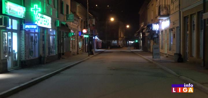 IL-ulica-policijski-cas Svaka čast Ivanjičani! Ulice prazne, aplauz podrške medicinskim radnicima (VIDEO)