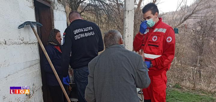 Il-Pomoc-najudaljenijima- Ivanjičani ne staju - Paketi pomoći stigli do najudaljenijih podgolijskih sela (VIDEO)
