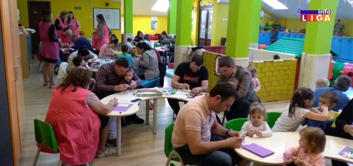 """Il-Vrtić-8.mart-radionica- Deca ivanjičkog vrtića """"Pahuljica"""" oduševila kreativnošću (VIDEO)"""