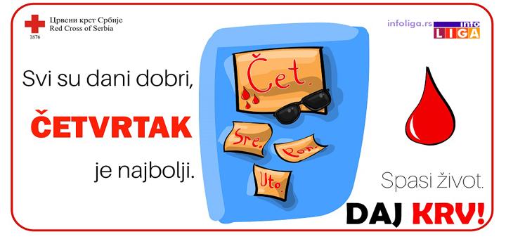 IL-DDK-Crveni-krst Akcija dobrovoljnog davanja krvi u Ivanjici-pokažimo solidarnost i odgovornost !