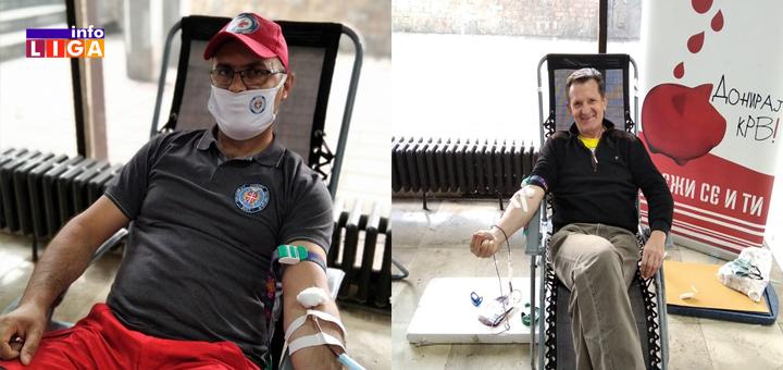 IL-Davanje-krvi-akcija-korona-3 Ivanjičane i u najtežim vremenima odlikuje plemenitost (FOTO)