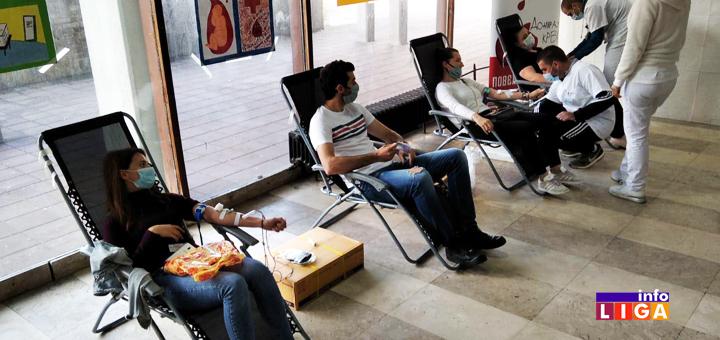 IL-Davanje-krvi-korona-nasolvna- Ivanjičane i u najtežim vremenima odlikuje plemenitost (FOTO)