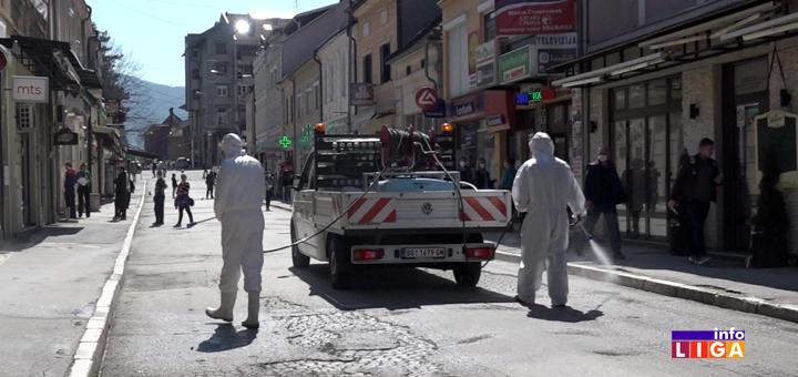 Il-Dezinfekcija-grada-Ivanjica- Kompletna dezinfekcija Ivanjice (VIDEO)