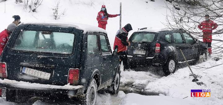Il-Volonteri-CK-zaglavljeni-u-snegu- Volonteri zaglavljeni u snegu (VIDEO)