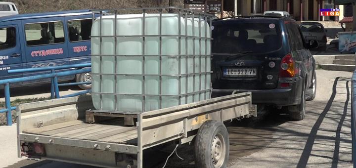 il-dezinfekcija-sela- Cisterne sa sredstvima za dezinfekciju stigle na seoska područja ivanjičke opštine (VIDEO)
