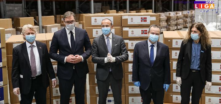 IL-EU-Donacija-Vucic-Dacic Od Evropske unije i Norveške - respiratori i monitori vredni 4,5 miliona evra